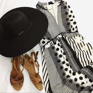 1c78c888d3e Calvin Klein Accessories - Calvin Klein Black Sequin Sun Hat